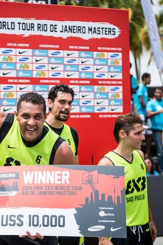 #6 Macetao Joao, Team Sao Paulo, FIBA 3x3 World Tour Rio de Janeiro 2014, Day 2, 28. September.