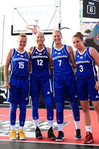 15 Andrea Klaudová (CZE) - 12 Klára Marečková (CZE) - 7 Monika Satoranska (CZE) - 3 Alžběta Levínská (CZE)