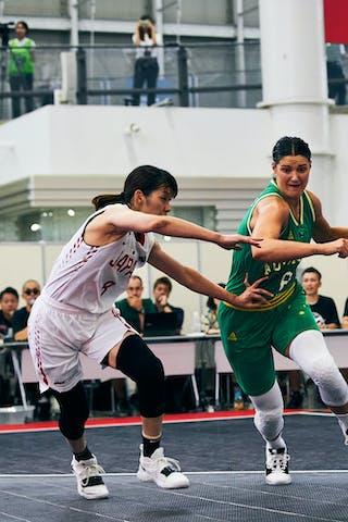 8 Chikae Uchino (JPN) - 8 Alice Kunek (AUS) - Game1_Pool B_Japan vs Australia