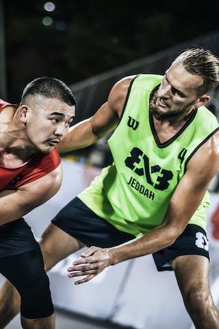2 Nemanja Draskovic (KSA) - 3 Ryan Tana (JPN)