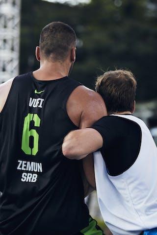3 Aron Roijé (NED) - 6 Nikola Vukovic (SRB)