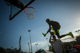 Dunker contest 2013 FIBA 3x3 World Tour Rio de Janeiro