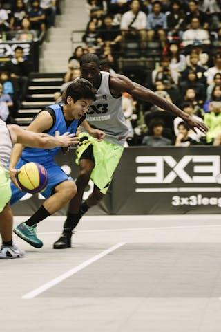 #4 Hiroaki Neki, Team Kobe, FIBA 3x3 World Tour Final Tokyo 2014, 11-12 October.