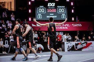 6 Xibao Zhang (CHN) - 5 Guanyi Zhang (CHN) - 3 Liu Hang (CHN)