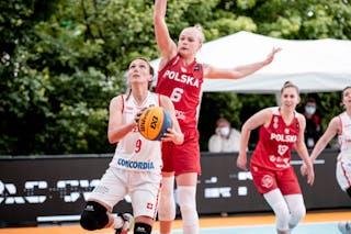 6 Marzena Marciniak (POL) - 9 Marielle Giroud (SUI)