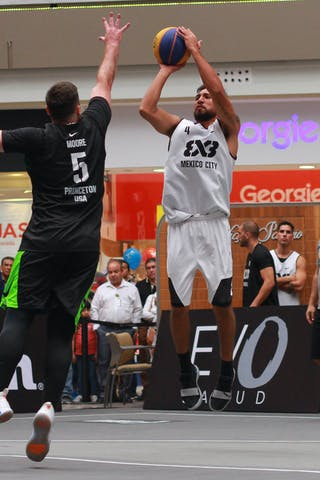 4 Miguel Eduardo Campos (MEX) - 5 Craig Moore (USA)