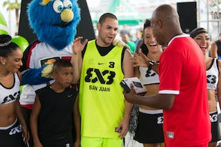 Samsung shoot out winner at the San Juan Masters 10-11 August 2013 FIBA 3x3 World Tour, San Juan, Puerto Rico. Day 2