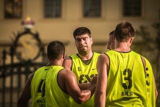 5 Petar Perunovic (SRB) - 4 Nebojsa Kilijan (SRB) - 3 Marko Stojanovic (SRB) - 6 Vaso Aleksic (SRB)