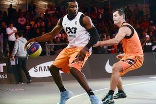 #6 Yves Bertrand Wafo Fotso, Team La Marsa, FIBA 3x3 World Tour Lausanne 2014, Day 1, 29. August.