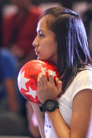 Girl with a ball, 2014. World Tour Manila, 3x3game, 20. July.