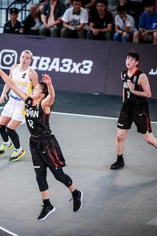Ririka Okuyama (JPN) - Naho Miyoshi (JPN) - 7 Nataliia Tsiubyk (UKR) - 5 Yevheniia Spitkovska (UKR)