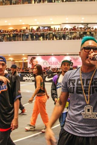 Dance crew, 2014 World Tour Manila, 3x3, 20. July.