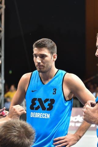 5 Jesper Jobse (NED) - 4 Sjoerd Van Vilsteren (NED) - 3 Joey Schelvis (NED) - Amsterdam v Debrecen, 2016 WT Debrecen, Pool, 7 September 2016