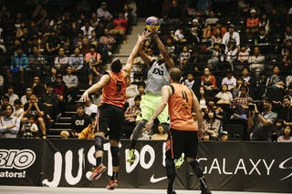 #7 King-Stockton Marcus, Team Denver, jump shot, FIBA 3x3 World Tour Final Tokyo 2014, 11-12 October.