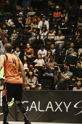 #7 King-Stockton Marcus, Team Denver, jump shot, FIBA 3x3 World Tour Final Tokyo 2014, 11-12 October.