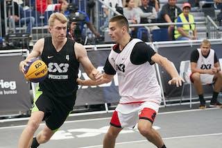 3 Andrey Kiselev (RUS) - 4 Robbie Hummel (USA)
