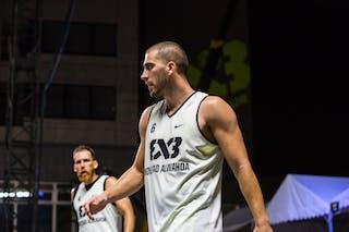4 Marko Zdero (UAE) - 6 Dusan Domovic Bulut (UAE) - Novi Sad Al Wahda v Al Gharafa, 2016 WT Utsunomiya, Pool, 30 July 2016