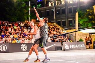 4 Lazar Rasic (SRB) - 3 Marco Lehmann (SUI) - Zemun v Lausanne, 2016 WT Lausanne, Pool, 26 August 2016