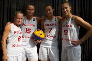 15 Jastina Kosalewicz (POL) - 13 Klaudia Sosnowska (POL) - 6 Martyna Cebulska (POL) - 7 Agnieszka Szott-hejmej (POL)