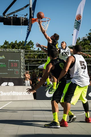 #5 Fortaleza (Brazil) Caracas (Venezuela) 2013 FIBA 3x3 World Tour Rio de Janeiro
