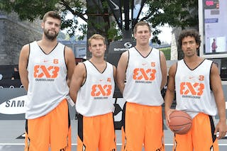 Dusseldorf (Germany) 2013 FIBA 3x3 World Tour Masters in Lausanne