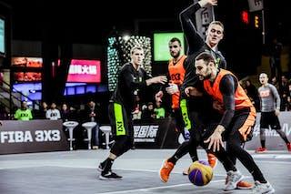 5 Marko Dugosija (SRB) - 3 Bogdan Dragovic (SRB) - 5 Janis Antrops (LAT) - 3 Nauris Miezis (LAT)