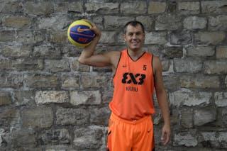 #5 Krejic Dario, Team Kranj, FIBA 3x3 World Tour Lausanne 2014, 29-30 August.
