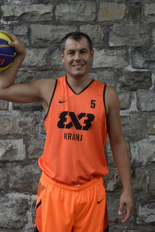 #5 Krejic Dario, Team Kranj, FIBA 3x3 World Tour Lausanne 2014, 29-30 August.