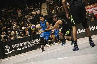 #4 Guevarra Rey Francis, Team Manila West, FIBA 3x3 World Tour Final Tokyo 2014, 11-12 October.