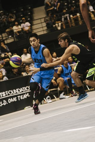 #4 Guevarra Rey Francis, Team Manila West, FIBA 3x3 World Tour Final Tokyo 2014, 11-12 October.
