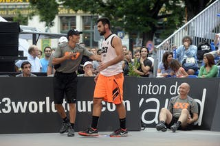 #6 Julevic Mensud, Team Kranj, FIBA 3x3 World Tour Lausanne 2014, day 1, 29. August.