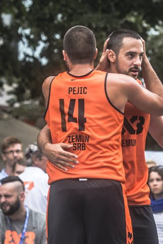 4 Lazar Rasic (SRB) - 14 Dejan Pejić (SRB)