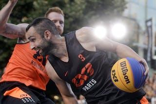 3 Angelo Tsagarakis (FRA) - Kolobrzeg v Paris, 2015 WT Prague, Semi final, 9 August 2015