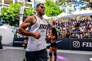 5 Nikola Vukovic (SRB) - Zemun v Valladolid, 2016 WT Lausanne, Pool, 26 August 2016