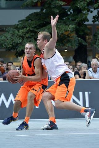 #3 Vilnius (Lithuania) Ljubljana (Slovenia) 2013 FIBA 3x3 World Tour Masters in Prague