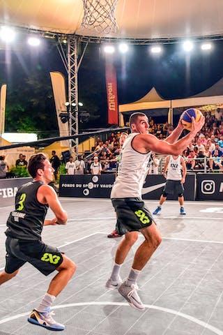 3 Marco Lehmann (SUI) - 5 Nikola Vukovic (SRB) - Zemun v Lausanne, 2016 WT Lausanne, Pool, 26 August 2016