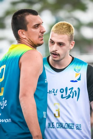 3 Marko Milaković (JPN) - 2 Ranko Krizanovic (BIH)