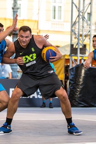 6 Piotr Wojcik (POL) - 17 Aleksandar Ratkov (SRB) - 4 Stefan Stojačić (SRB)