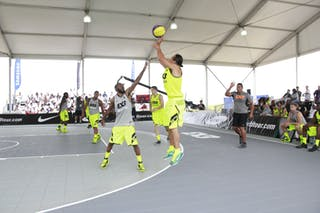 #6 Michael Linklater, Team Saskatoon, 2014 World Tour Chicago, 3x3 Game, 16 Agust, Day 2.