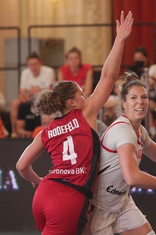 2 Katherine Plouffe (CAN) - 4 Luana Rodefeld (GER)