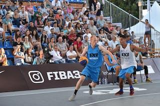 3 Joey Schelvis (NED) - 4 Luiz Felipe Soriani (BRA) - São Paulo DC v Amsterdam, 2016 WT Debrecen, Pool, 7 September 2016