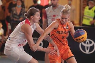 11 Aldona Morawiec (POL) - 7 Janine Guijt (NED)