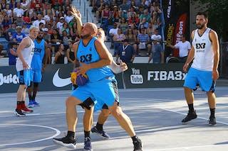 6 Xavier Zambrana (PUR) - 6 Roman Zachrla (CZE) - Humpolec vs Gurabo FIBA 3x3 Saskatoon 2017 (Can)