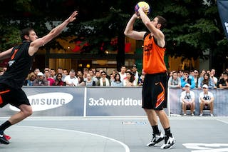 #6 Filip Zbranek. Team Ostrava. 2014 World Tour Prague. 3x3 Game. 24 August. Day 2.