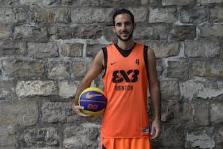 #4 Peslier Flavien, Team Menton, FIBA 3x3 World Tour Lausanne 2014, 29-30.August.