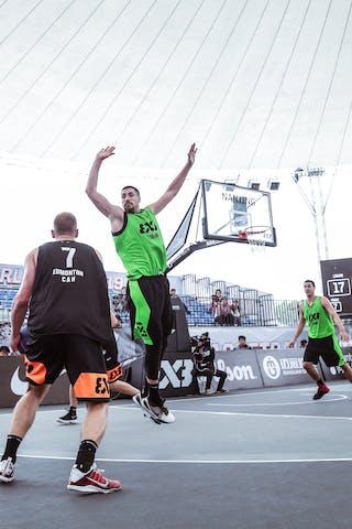 5 Aleksandar Ratkov (SRB) - 3 Mihailo Vasic (SRB) - 6 Kyle Landry (CAN)