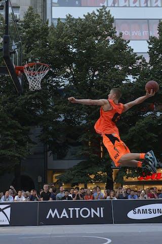 Dunk contest 2013 FIBA 3x3 World Tour Masters in Prague