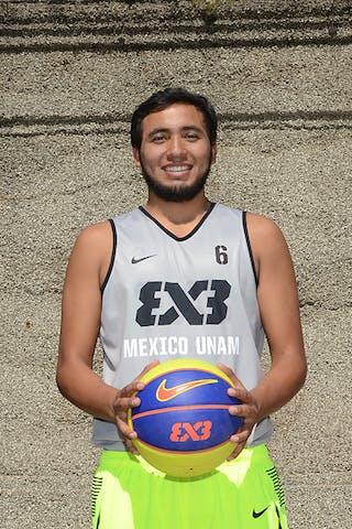 Daniel Guerrero Gastelum. Team Mexico UNAM. 2014 World Tour Chicago.