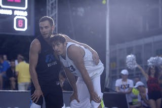 3 Ovidijus Varanauskas (LTU) - 15 Simon Finzgar (SLO) - Piran v Vilnius, 2016 WT Prague, Pool, 6 August 2016