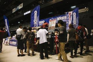 Xebio corner, FIBA 3x3 World Tour Final Tokyo 2014, 11-12 October.
